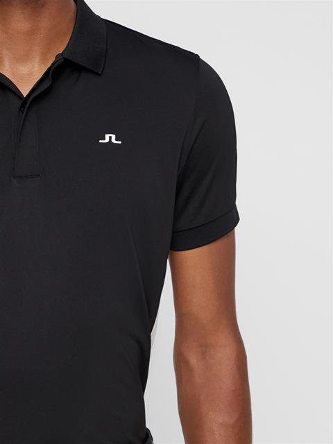 Mens Jack TX Jersey Polo Black