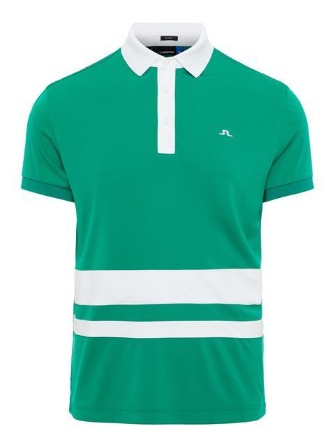 Mens Lucas TX Jersey Polo Golf Green