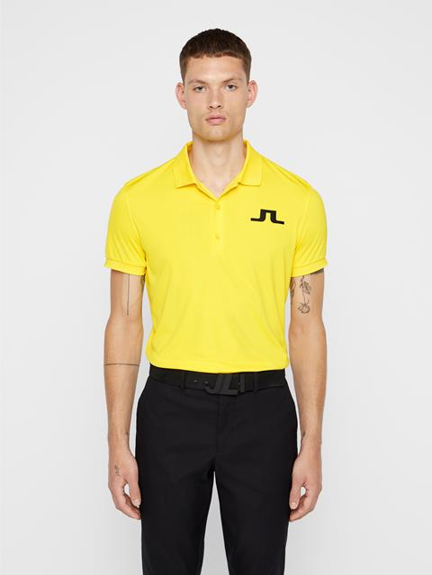 Mens Big Bridge TX Jersey Polo Banging Yellow