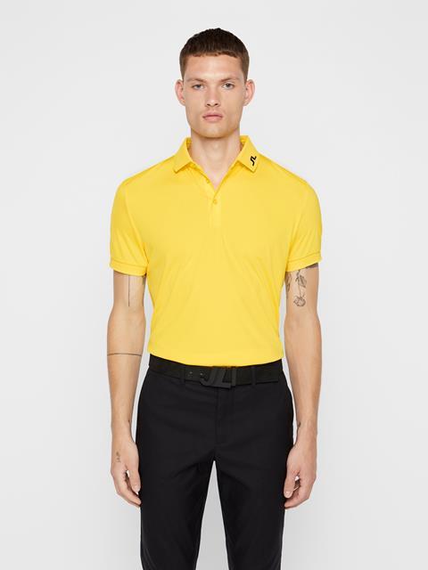 Mens KV TX Jersey Polo Banging Yellow