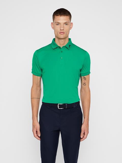 Mens KV TX Jersey Polo Golf Green