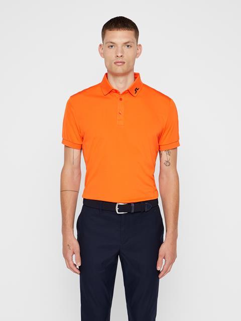Mens KV TX Jersey Polo Juicy Orange