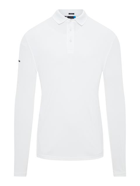 Mens Otis TX Jersey+ Polo White