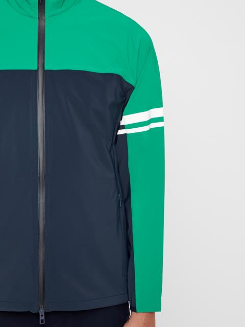 Mens Archer Lux Softshell Jacket Golf Green