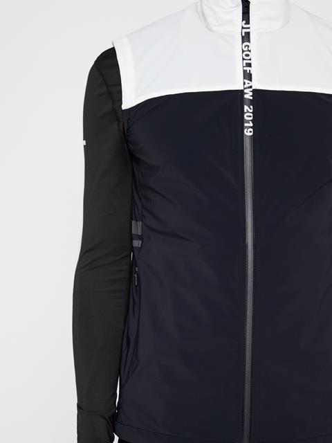 Mens Archer Lux Softshell Vest Black