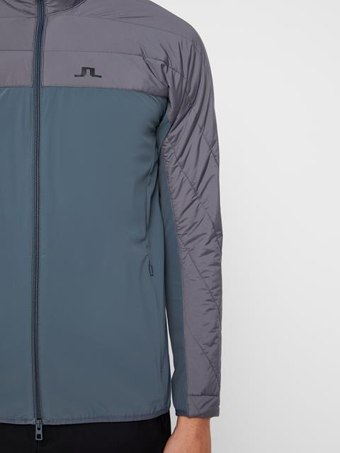 Mens Winter Hybrid Jacket Dark Grey