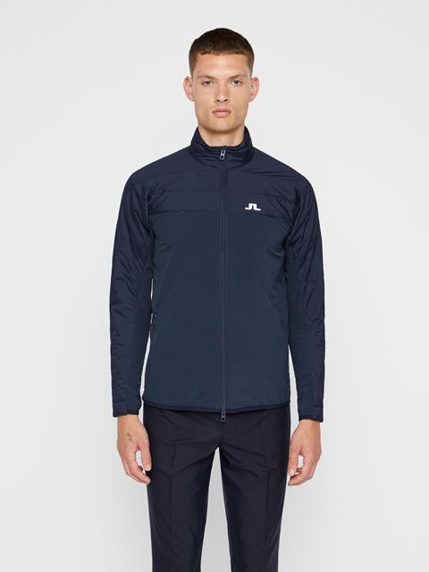 Mens Winter Hybrid Jacket JL Navy