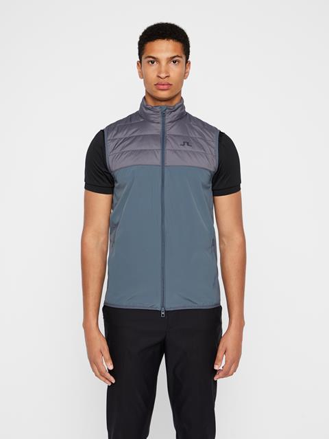 Mens Winter Hybrid Vest Dark Grey