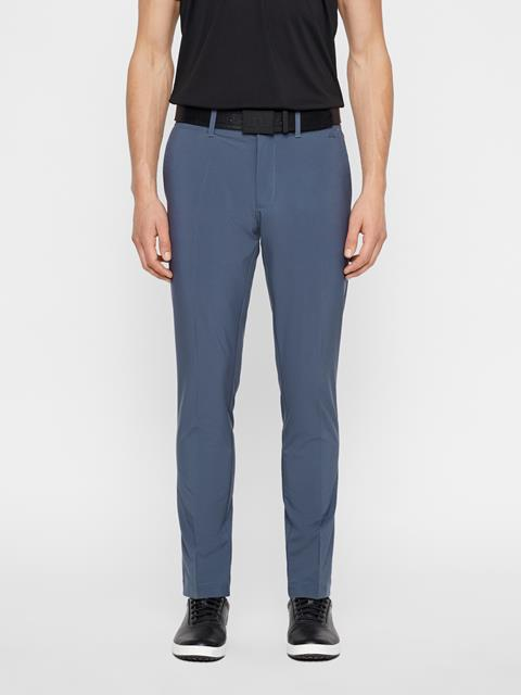 Mens Ellott Slim Micro Stretch Pants Dark Grey