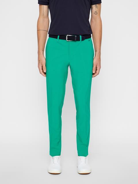 Mens Ellott Slim Micro Stretch Pants Golf Green
