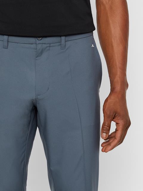 Mens Elof Slim Light Poly Pant Dark Grey