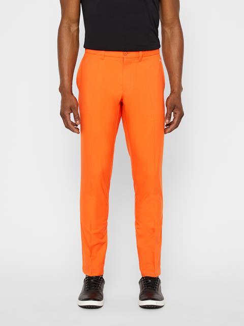 Mens Elof Slim Light Poly Pant Juicy Orange