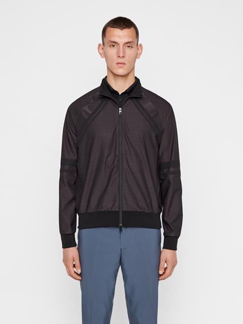 Mens Shino Bonded Knit Softshell Jacket Black