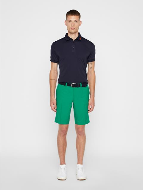Mens Somle Tapered Light Poly Shorts Golf Green