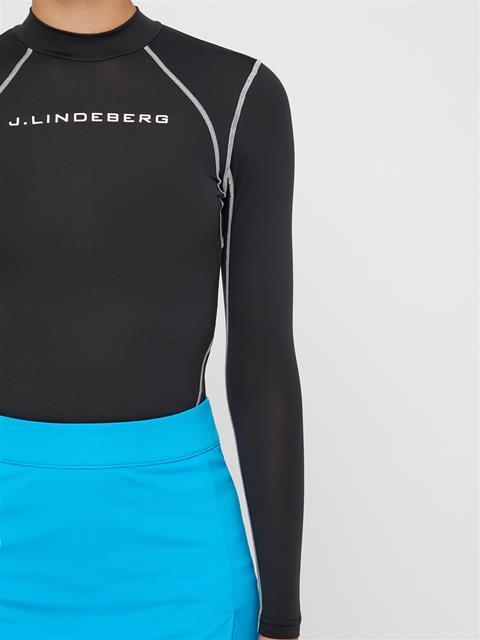 Womens Caris Ultra Light Jersey Layer Black