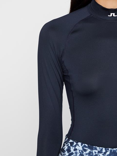 Womens Asa Soft Compression Layer JL Navy