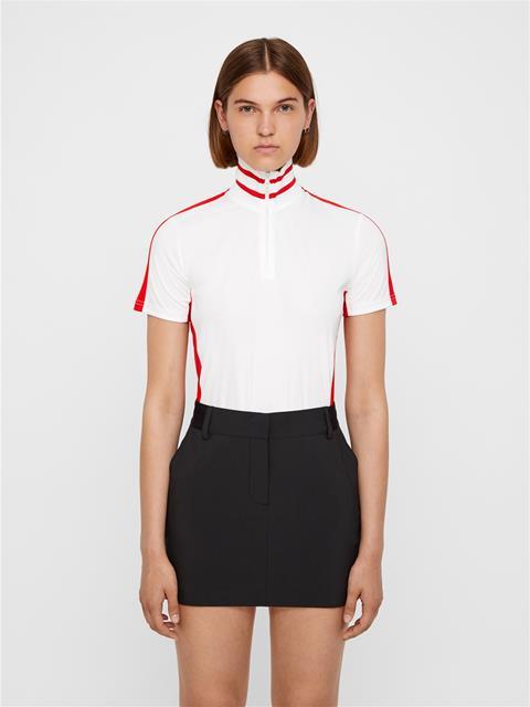 Womens Filippa TX Jersey Top White