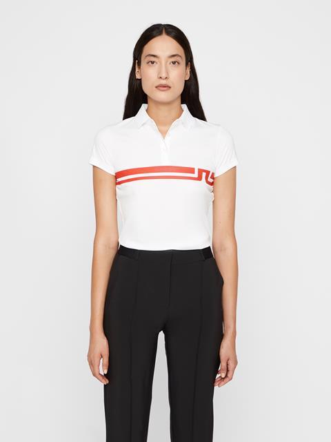Womens Orla TX Jersey Polo White