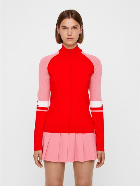Womens Sanne Sweater Racing Red