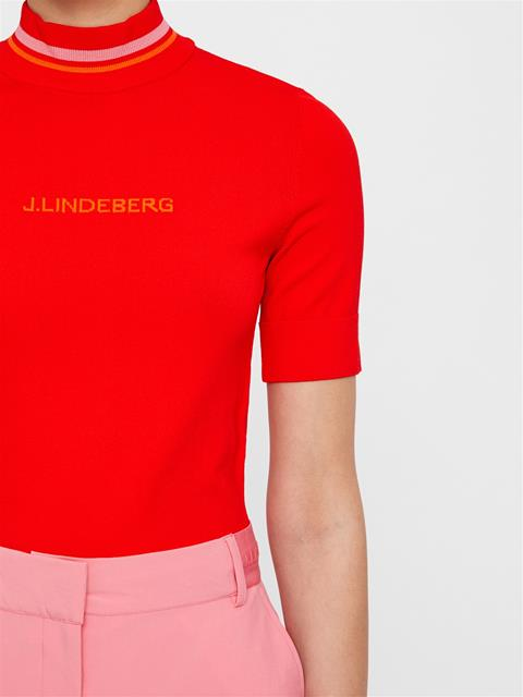 Womens Selma Sweater Racing Red