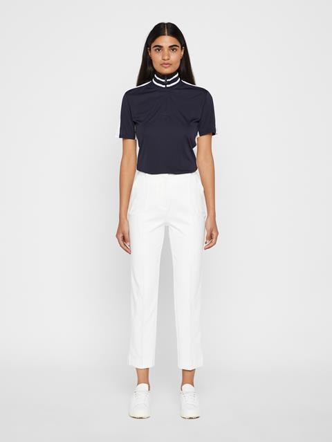 Womens Gio Micro Stretch Pants White