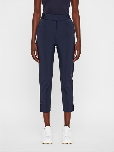 Womens Gio Bonded Micro Stretch Pants JL Navy
