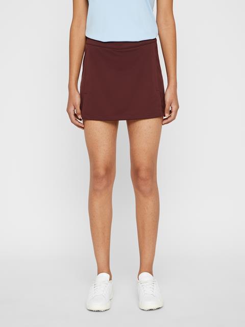 Womens Amelie TX Jersey Skirt Dark Mocca