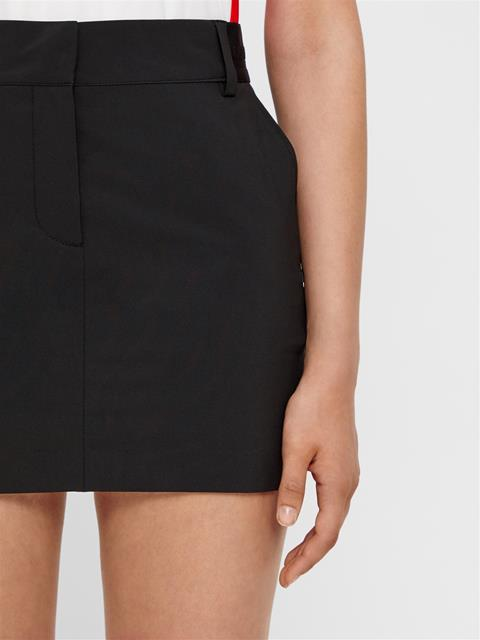Womens Gabriela Micro Stretch Skirt Black