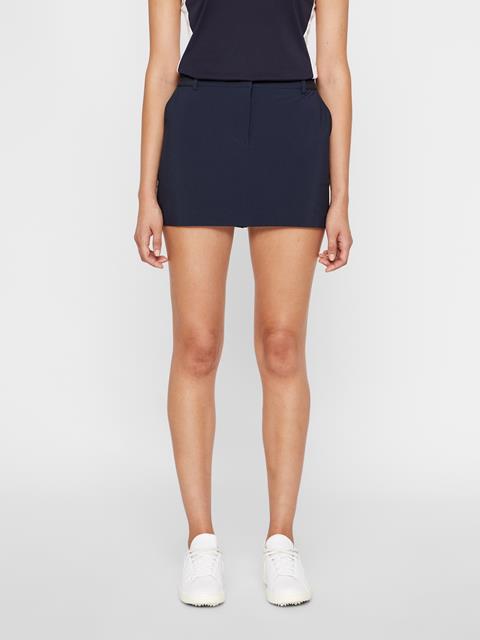 Womens Gabriela Micro Stretch Skirt JL Navy
