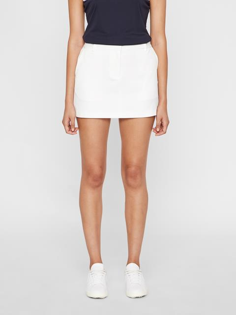 Womens Gabriela Micro Stretch Skirt White