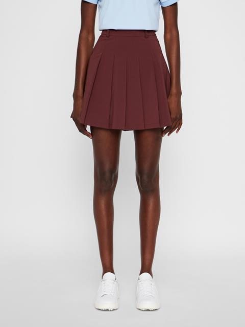Womens Adina Micro Stretch Skirt Dark Mocca
