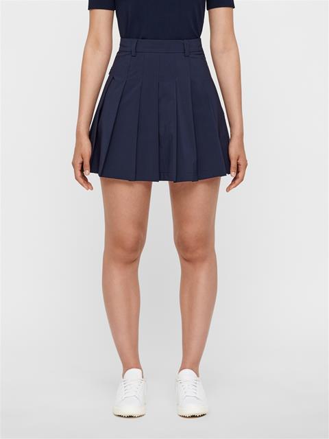 Womens Adina Micro Stretch Skirt JL Navy