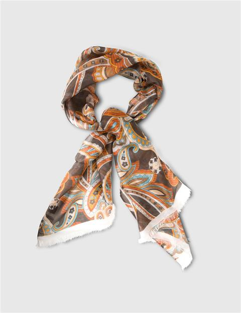 Mens Aldo Modal Scarf Brown/Beige