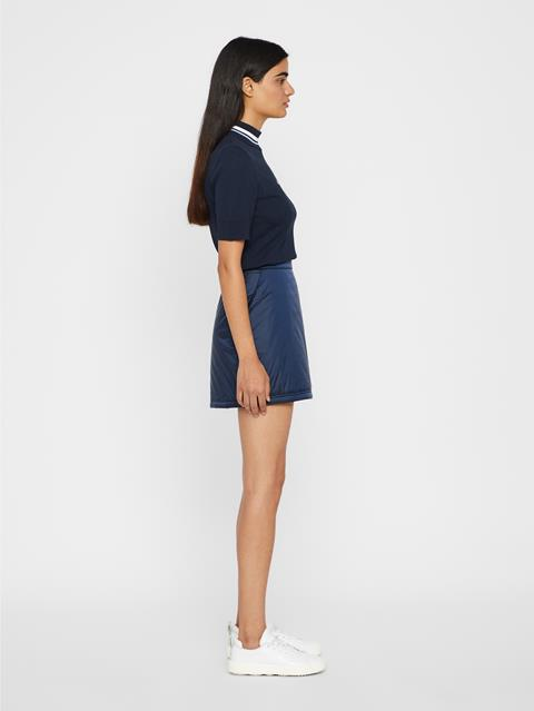 Womens Lourdes Lux Skirt JL Navy