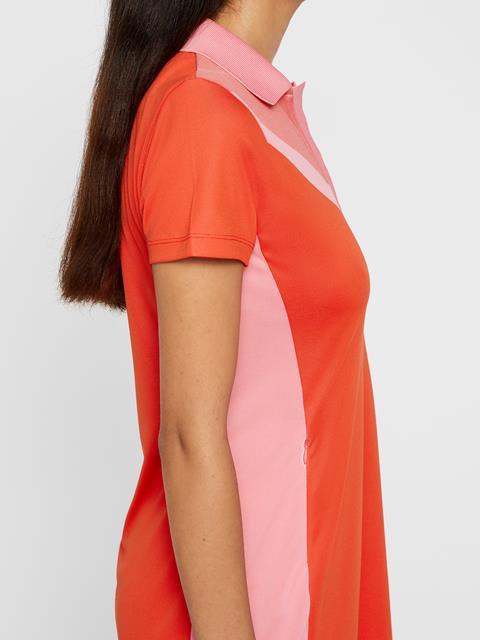 Womens Lana TX Jacquard Dress Racing Red