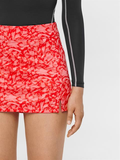 Womens Amelie TX Jersey Print Skirt Hubba Bubba Icelayer