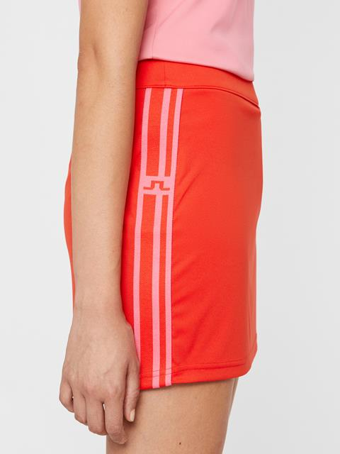 Womens Asta TX Jersey Skirt Racing Red