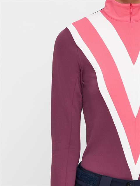 Womens Wrangler Fieldsensor Midlayer Hot Pink