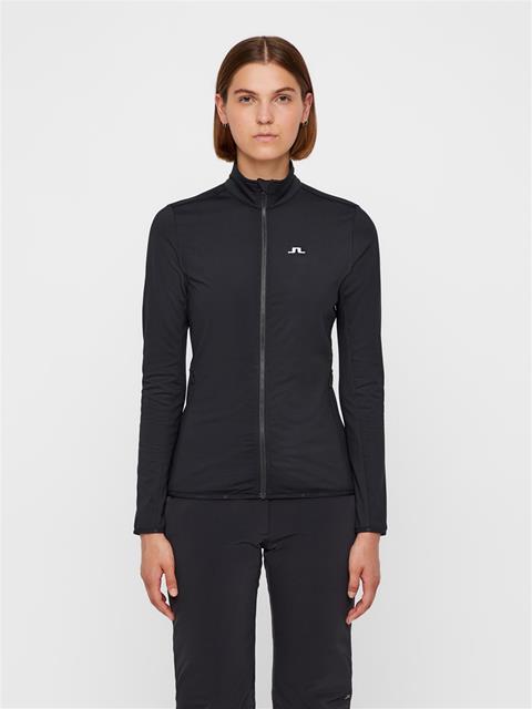 Womens Truuli Light Peached Mid-Jacket Black