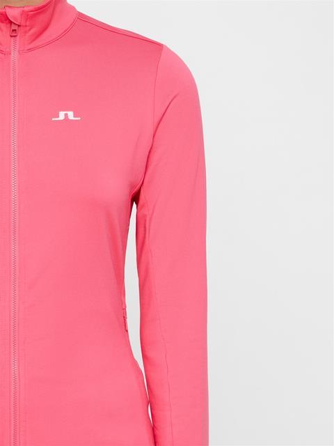 Womens Truuli Light Peached Mid-Jacket Hot Pink