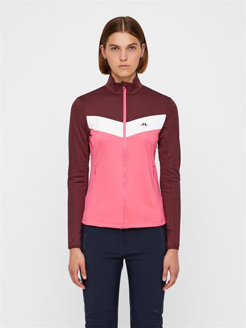 Womens Russel TX Mid-Jacket Hot Pink