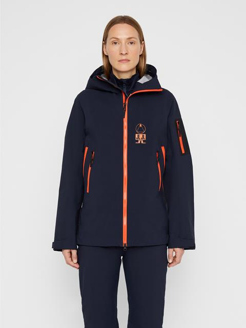 Womens Bute 3-Layer Jacket JL Navy