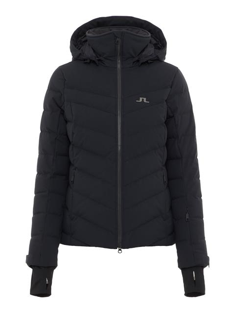 Womens Russel 2-Layer Down Jacket Black