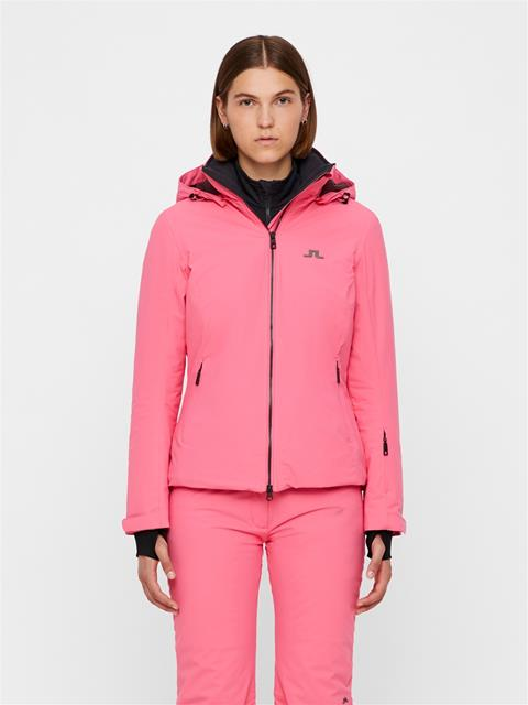 Womens Truuli 2-Layer Jacket Hot Pink