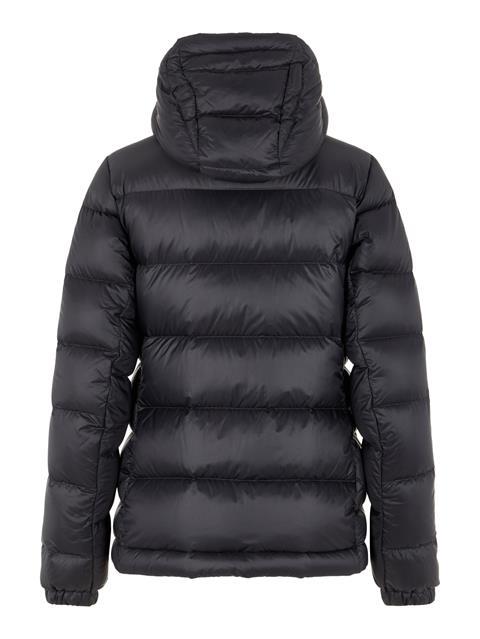 Womens Rose Pertex Down Jacket Black
