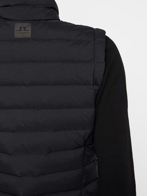 Womens Ease Down Vest Black