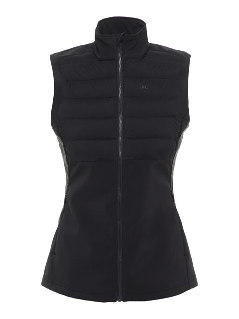 Womens Vertex Hybrid Down Vest Black