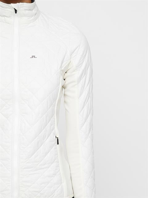 Womens Atna Hybrid Pertex Jacket White