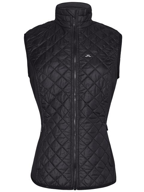 Womens Atna Hybrid Pertex Vest Black