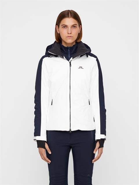 Womens Loa 2-Layer Jacket White